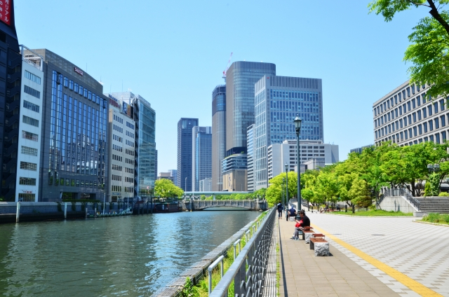 大阪・中之島